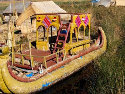 Floating Uros Island
